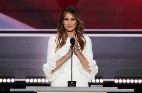 Why Melania's speech was all her own