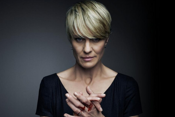 Why you shouldn't take career advice from Robin Wright
