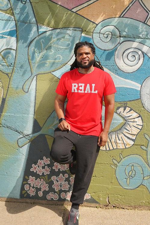 Reflective REAL Men's T-Shirt