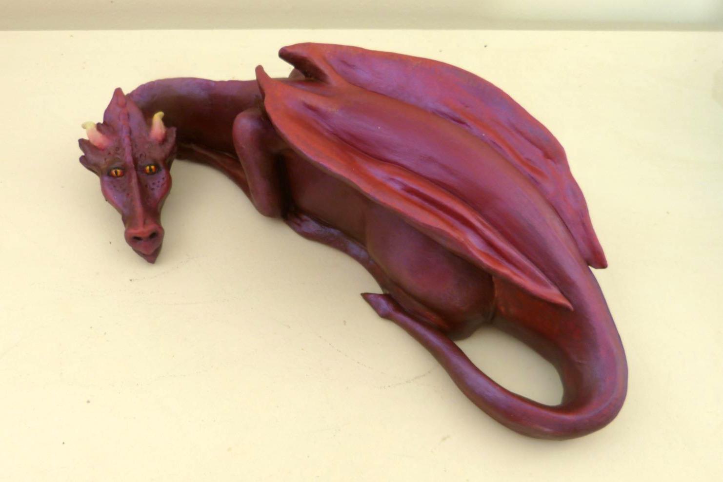 dragon pourpre