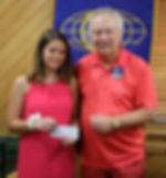 2018 Raceland Kiwanis Scholarship winner