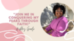 Brown and Cream Motivational Blog Banner