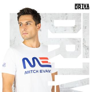 Mitch Evans T-Shirt White
