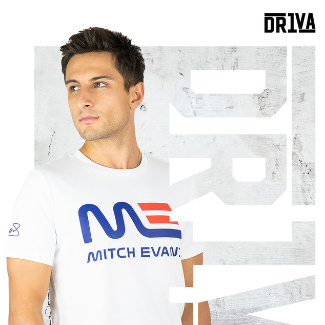 Mitch Evans T-Shirt White