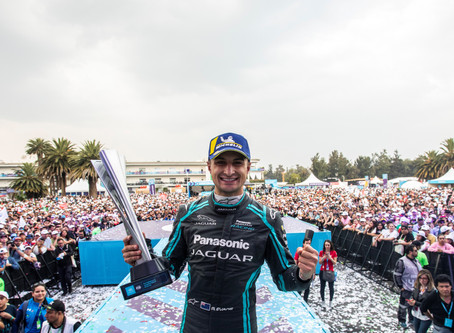 MITCH EVANS LEADS DRIVERS' CHAMPIONSHIP AFTER DOMINANT MEXICO CITY E-PRIX WIN