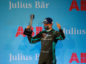 PODIUM FINISH FOR MITCH EVANS UNDER THE LIGHTS AT THE DIRIYAH E-PRIX