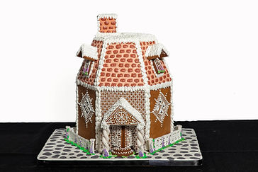 French Provincial Gingerbread House