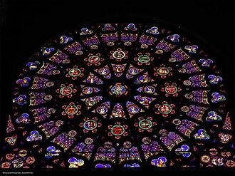 Basilica of St. Denis - Zodiac - Wikicom