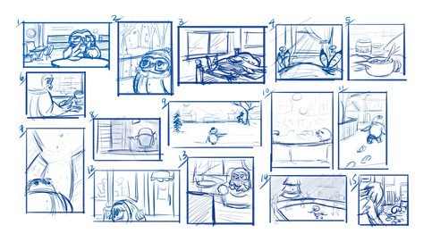 Owl Composition Thumbs