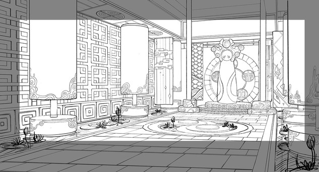 Energy Temple Interior Layout