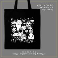 Owl Hoard Tote Bag