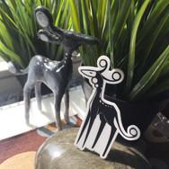Qi Monsters - Deer - Sticker