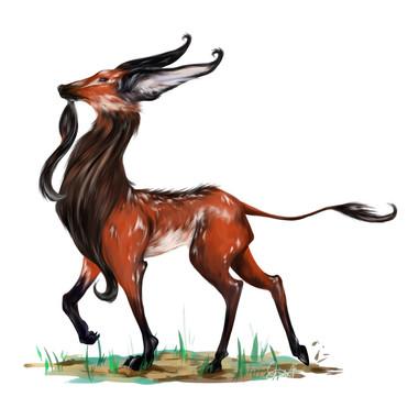 Maned Wolf Deer