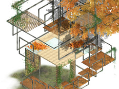 """ESPALIER"" GARDEN BRIDGE TREEHOUSE PROPOSAL"