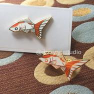 Comet Goldfish - Enamel Pin