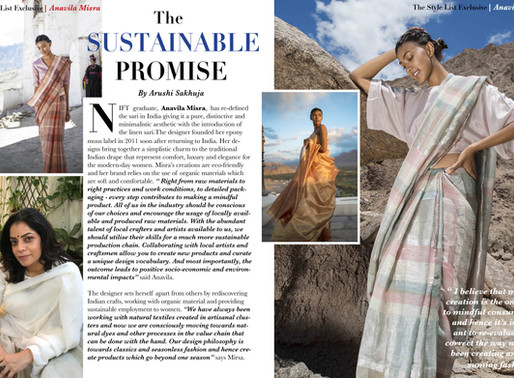 Anavila Misra's Fashion Sustainability Promise!