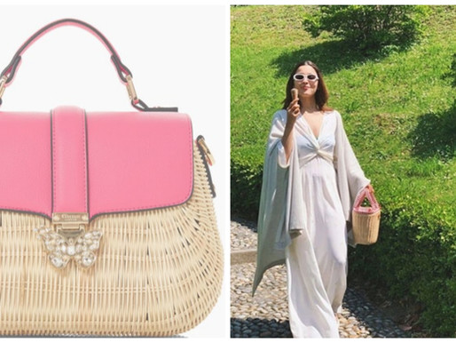Chic Straw Bag You Can Wear On The Streets Or To The Beach!