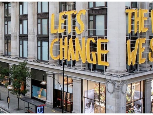 London's Favourite Luxury Shopping Destination, Selfridges, Makes Sustainability A Priority