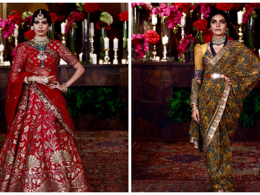 JJ Valaya's New Collection 'Bursa' Highlights The Grandeur Of Indian Couture