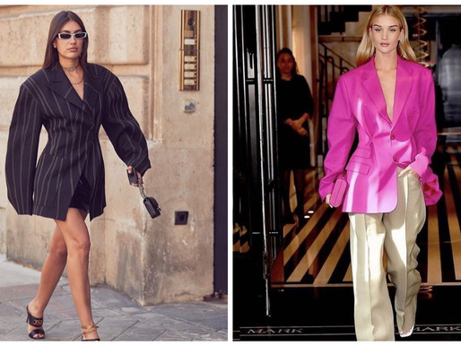 Oversized Is The New Right Size!