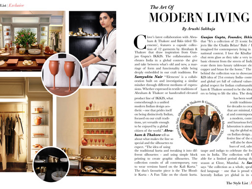 Samyukta Nair, Abraham & Thakore, and Gunjan Gupta, On Their Latest Collab 'Elements'!