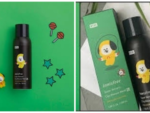 Product Review: Innisfree Super Volcanic Clay Mousse Mask 2X!