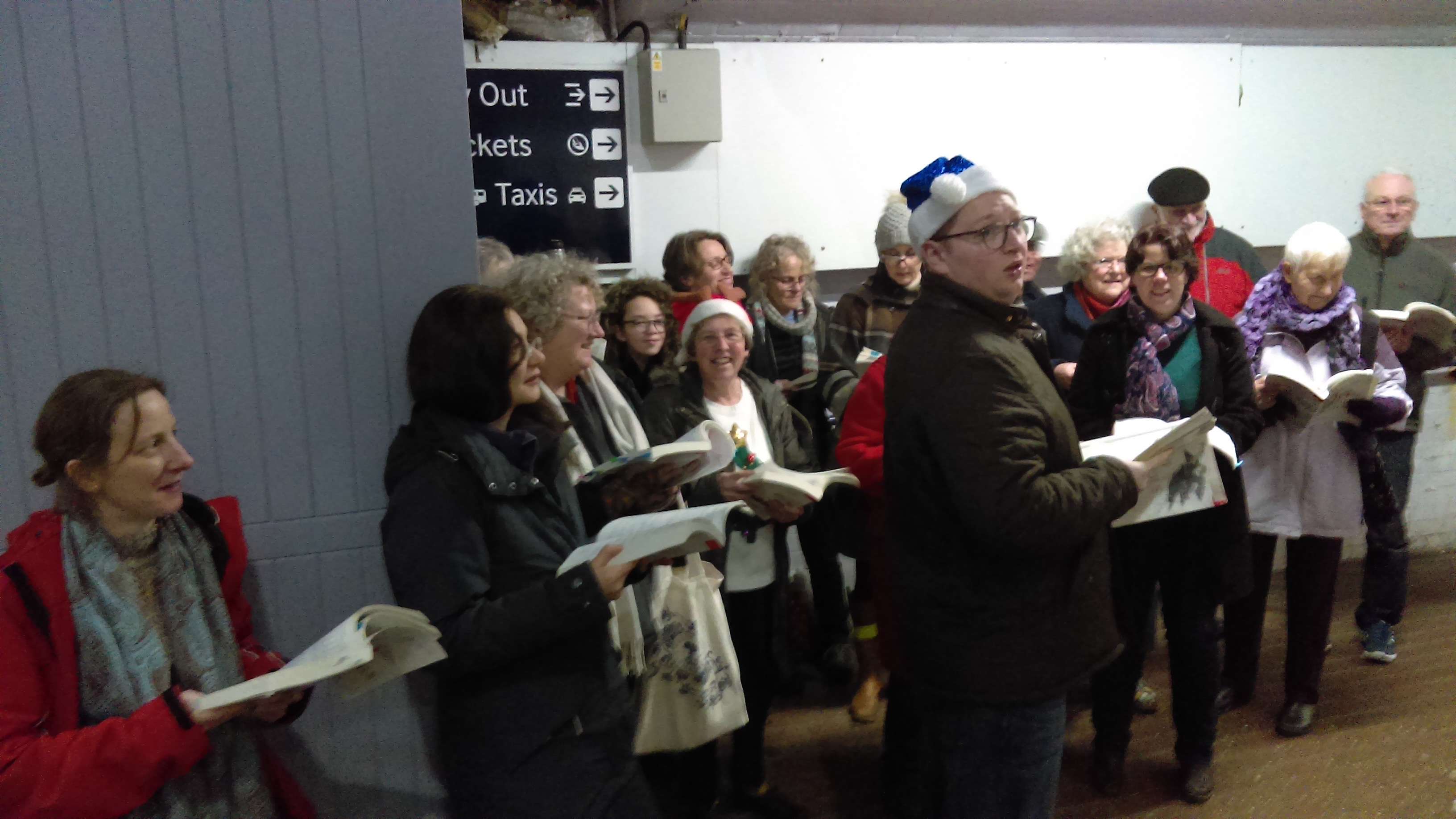 Carols at the Station