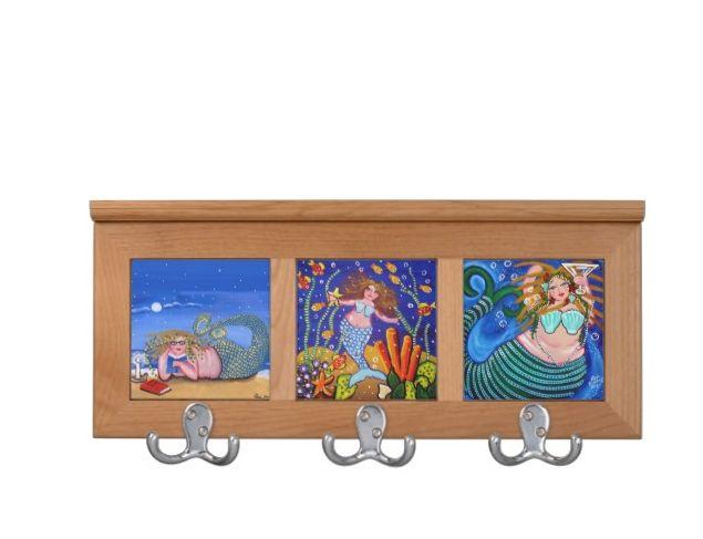 Mermaids Coat Rack