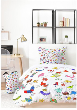Funky Birds Bed In A Bag