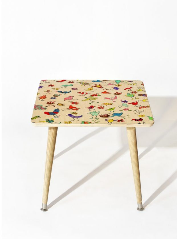 Funky Birds Side Table