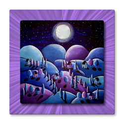 Purple Peace on Earth at All My Wall