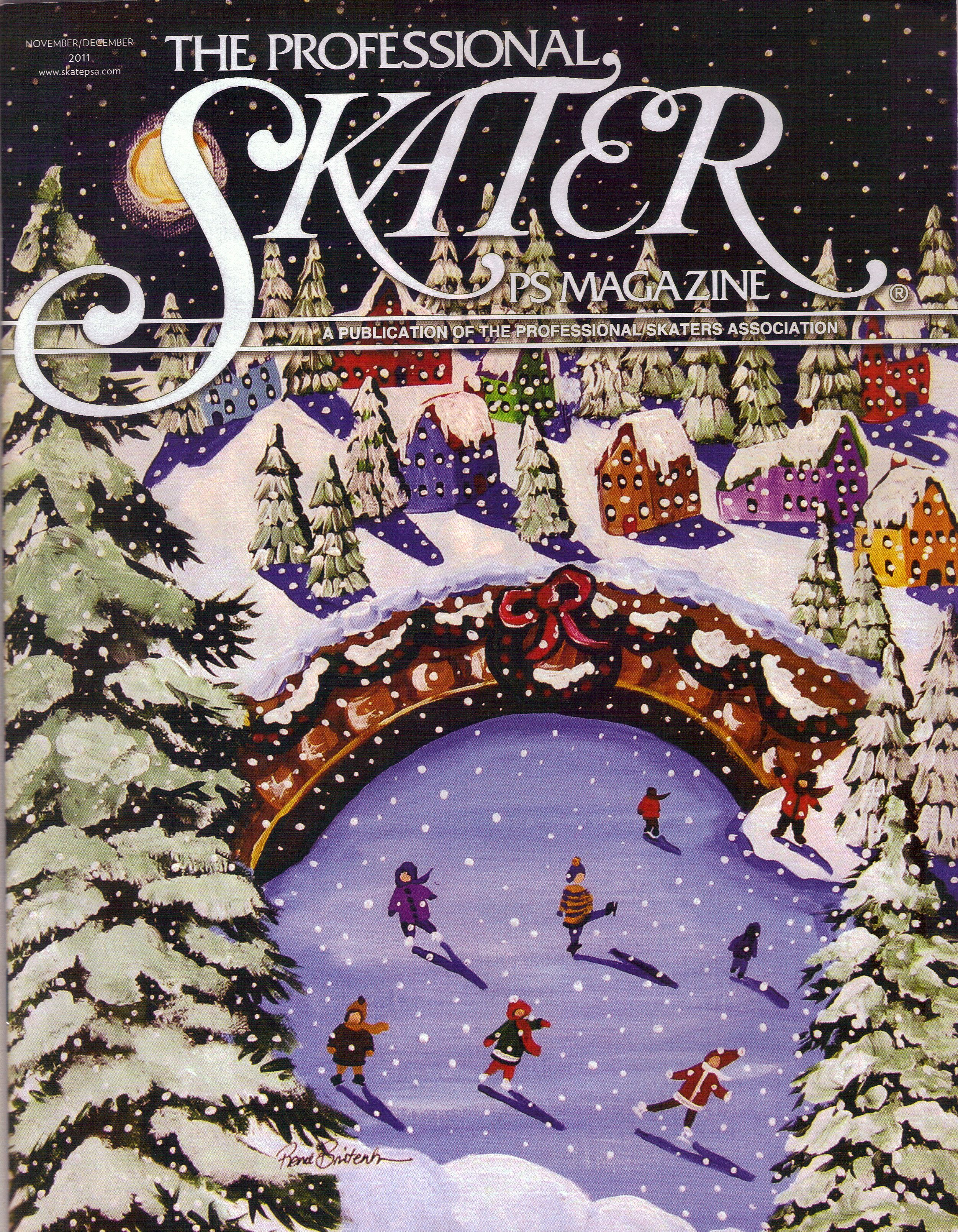 Professional Ice Skaters Magazine