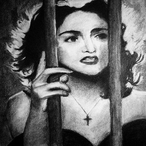 Madonna Print 8x10