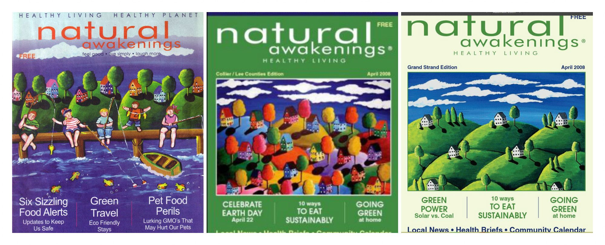 Natural Awakenings Magazine Cover
