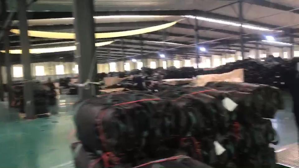 耐候性大型土嚢工場