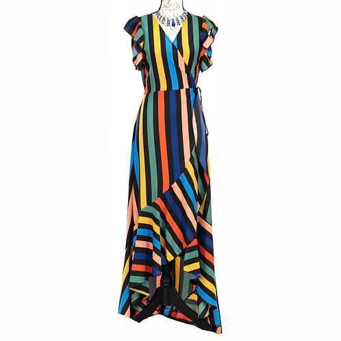 0850 AKIRA MULTICOLO DRESS