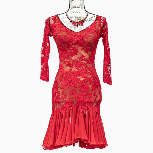 1092 DTS RED DRESS