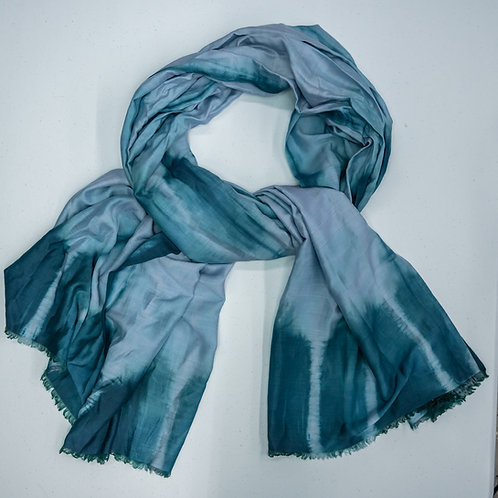0507 BLUE SCARF