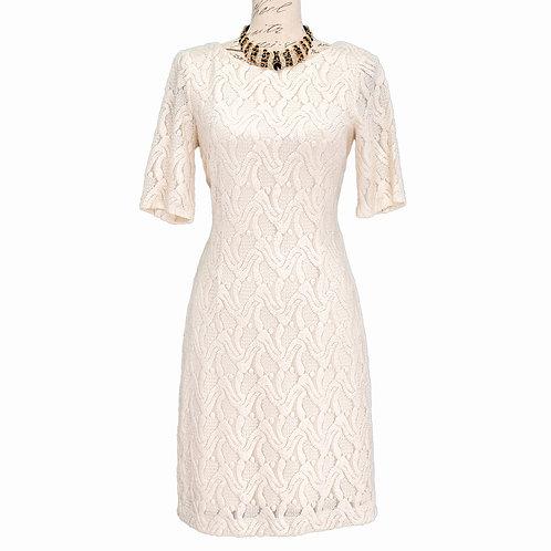 1220 OFF WHITE ANN TAYLOR DRESS