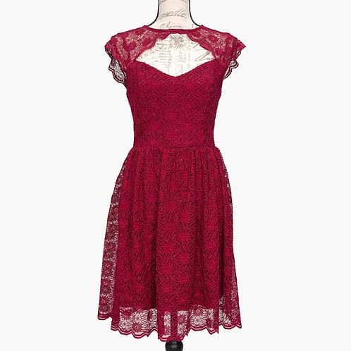 0636 FRANCESCA'S FUSCHIA DRESS