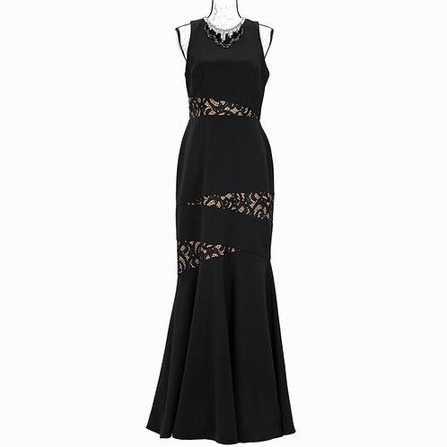 1511 BCBG BLACK TIE DRESS