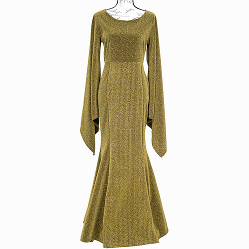 0324 ORDER PLUS GOLD GOWN