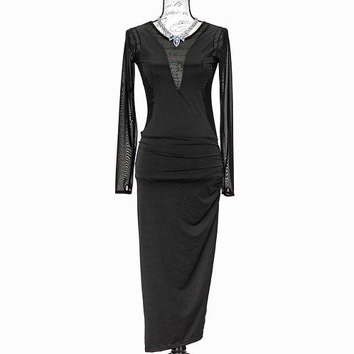 1503 SHALL WE BLACK DRESS