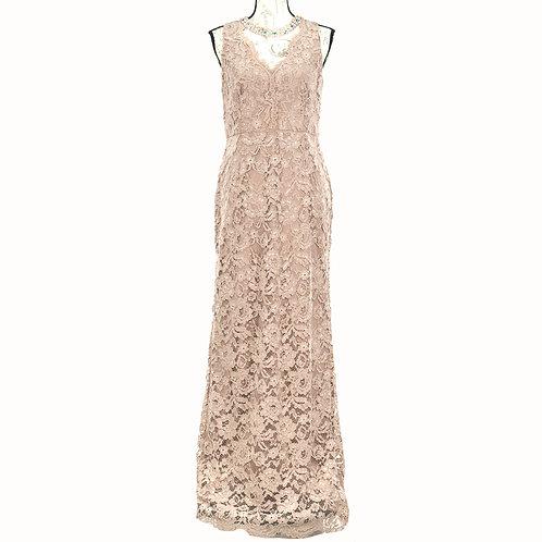 0834 ADRIANNA PAPELL PINK DRESS