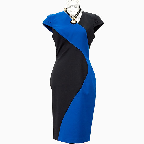 1213 BLACK HALO DRESS