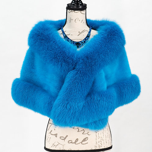 0683 FRENCH BLUE STOLE 66