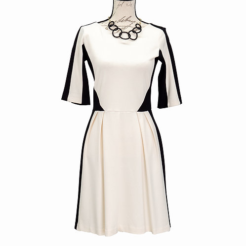 0520 BLACK & WHITE DRESS