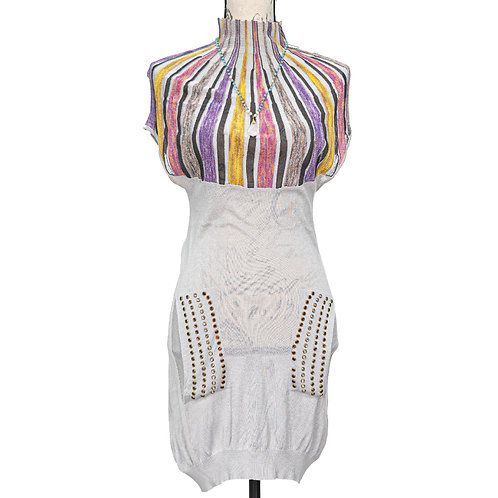 0979 PEPLOS DRESS