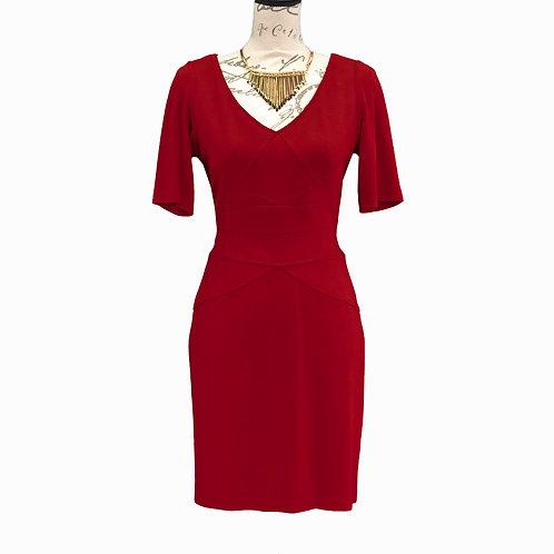 0511 RUST MAGGY LONDON DRESS