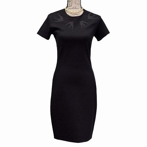 0516 BLACK MCQ DRESS